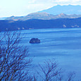摩周湖の中島