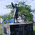 久坂玄瑞の像