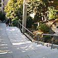 日枝神社入り口の階段
