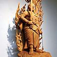 見事な彫刻